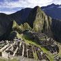 Frühmorgentlicher Blick auf den Machu Picchu
