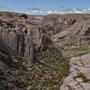 Eingang zum Valle Grande, Canyon de Atuel