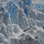 Der Gletscher kalbert