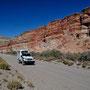 Valle Chubut, wunderschöne Steinformationen
