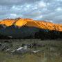 NP Nahuel Huapi; von diesem schönen Plätzchen wurden wir am Morgen vom Ranger verscheucht