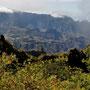Landschaft beim Wandern auf La Réunion