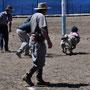 Rodeo auf Schafen - die Kleinsten mit viel Mut!