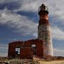 Leuchtturm auf Isla Pingüinos