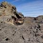 Mondlandschaft im Pali Aike Nationalpark (Argentinien)