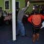 Spontanes Tanzen im Museum