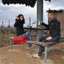 Übernachtungsplatz mitten im Weingut: Valle Colchagua