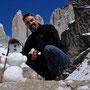 Unser glücklicher Schneemann