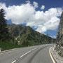 Ein spannende Strecke durch die tiroler Alpen