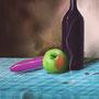 Stillleben mit Apfel