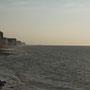 La falaise près de la baie de Somme.