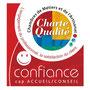 Le label de la Charte Qualité Confiance de la Chambre des Métiers