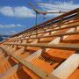 Das vorbereitete Dach