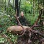 Alexander mit seinem Waldhirsch