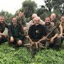 gemeinsames Foto mit Helfer und Jagdteilnehmer