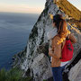 Die Felsen von Gibraltar: Nix für Turnbeutelvergesser ;-) (Foto: Meriam Gassa)