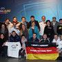 Am Finaltag der UEFA Futsal-EURO 2014 in Antwerpen (Belgien) mit vielen Freunden aus der deutschen Futsal-Szene (Foto: Toninho Dourado de Sousa)