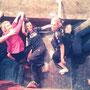 Einfach mal Abhängen bei einer Kletterpartie mit den Dancelicious-Damen (Foto: Dorien Beckers)
