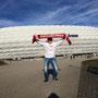 Hurra, wir haben 'ne neue Arena ... in München (Foto: Vanessa Losch)