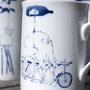 pieuvre en équilibre sur son vélo (atelier)