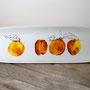 abricot - plat allongé 33cm/10cm (atelier)