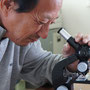 顕微鏡でキュアリング状態を調べる