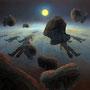 Die Leere des Mondes,  Version I