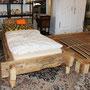 Betten aus Altholz nach Mass