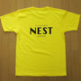 ラウンジネストオリジナルTシャツ   Art Director/Graphic designer :有本彩子