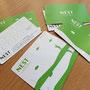 (株)C-1マネージメント 「club NEST インドアゴルフレンジ 会員カード・回数券」   Art Director/Graphic designer:有本彩子