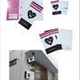 ネイルサロン「ネイルシェルター 横浜店」 三つ折りパンフ・スタンプカード・DM・看板  Art Director/Graphic designer:有本彩子