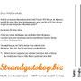 für Mikkelsen GmbH, Messe-Flyer (Rückseite), Text, Gestaltung durch Mikkelsen GmbH