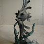 """Кованая скульптура"""" Рыба луна"""".Автор Алисов И."""