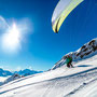 easy Take-off with skis at Belalp