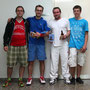 Herren: Thorsten Bus (3.), Sascha Gojkovic (1.), Martin Schenker (2.), Stefan Zedi (3.)
