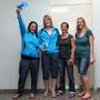 Damen: Romy Lienhard (1.), Ilva Gerber (2.), Claudine Boyer (3.), Nadine Weingartner (3.)