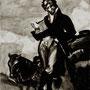 Goya 32x24cm, Verschollene Bilder 2009 14 Gemälde Öl & Tusche auf Leinwand | verschiedene Maße
