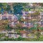 Parcours, 150 x 240 cm, mischtechnik auf Papier, 2013