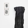 """aus der Serie Rhythmus: """"T1, T2"""", Tuschezeichnungen, 46 x 34 cm, 2015 · """"Blatt I"""", Metall 194 x 110 cm, 2015"""