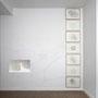 Schaum, Videoloop, tuschezeichnungen, Wandzeichnung, installationsansicht, 2012