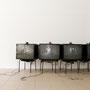 """PinholeVideo, """"1- 4"""", 2007–2009, Ausstellungsansicht, 2011"""