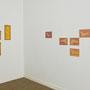 Aus der serie fotogenic Drawings, Ausstellungsansicht, 2012