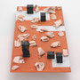 """24 verworfene ideen"", Keramik, Holz und Acryl, 42 x 65 x 140 cm, 2009"