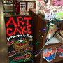 アートケーキの看板・店内 / 福岡パルコ本館【エドマッチョ】