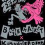 カミカゼスピリッツ×ブラックマーケット(名古屋大須のパンクショップ) コラボTシャツのデザイン