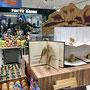 2018 東急ハンズ大宮店4階 映画【ジュラシック・ワールド/炎の王国】タイアップと夏休みの恐竜グッズ企画の店頭