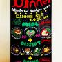 2015- ハンズカフェ福岡パルコ店のディナー看板