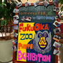 2015 福岡市動物園 「バックヤードからの写真展」看板:於)ハンズカフェ福岡パルコ店店頭