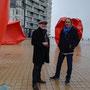Oostende, Gilles Boudot avec Yvon Poncelet