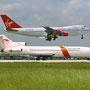Falcon Air, Boeing B727-200 (N32719), Airport Miami; (Foto: Werner Huhn)
